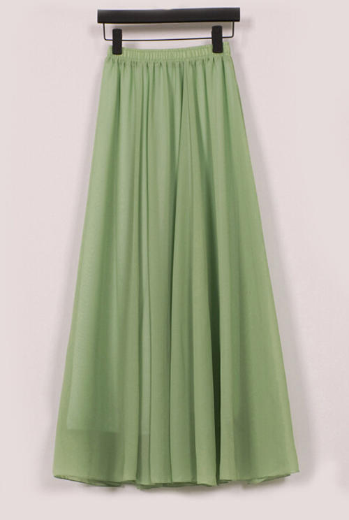 skirts skirt olive green chiffon fully lined mini to