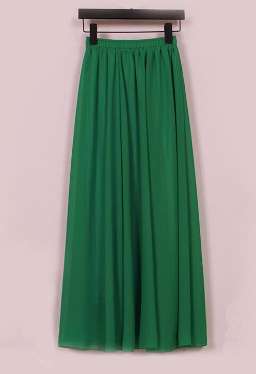 skirts skirt flag green chiffon fully lined mini to