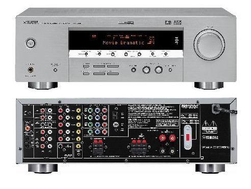 Home theatre systems yamaha rx v359 natural sound av for Yamaha rx v450 av receiver price