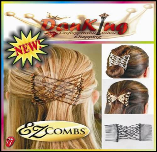 ... Hair Bands also Hairstyles Using Hair Combs and Ez Hair Comb As Seen