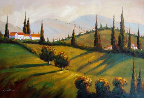 K Hillman Oil Paintings