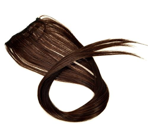 Hair Styling Products - 1pcs Clip on Hair Extensions Auburn Brown #2