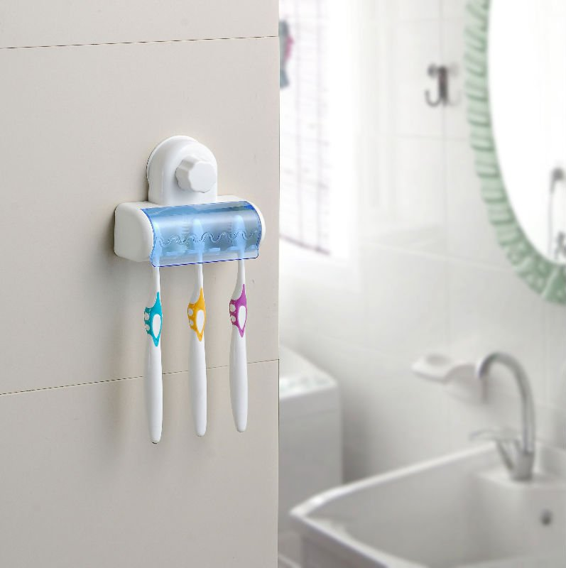 other toothbrush holder with suction cup holds up to 5 toothbrushes was sold for. Black Bedroom Furniture Sets. Home Design Ideas