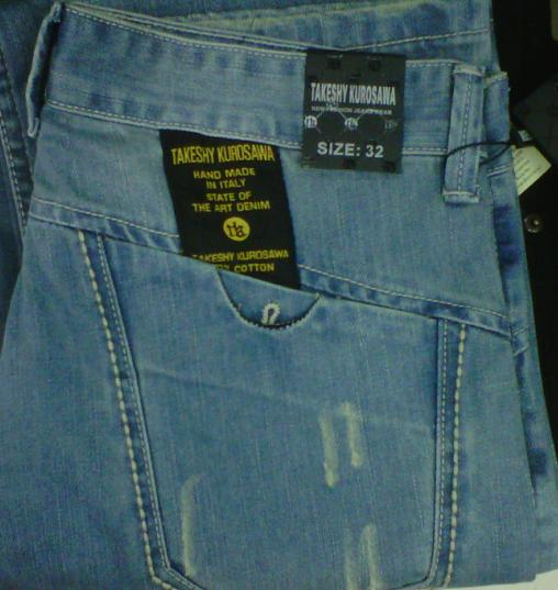 Jeans - MENS TAKESHY KUROSAWA JEANS was sold for R280.00 ...