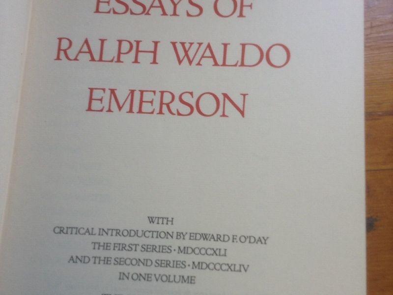 Self reliance essay summary