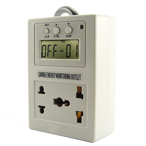 Energy Use Monitor : Other electronics digital electricity ac power