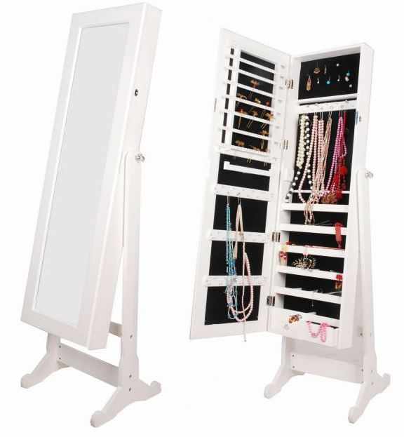 Other Bedroom Jewellery Storage Cabinet With Full Length