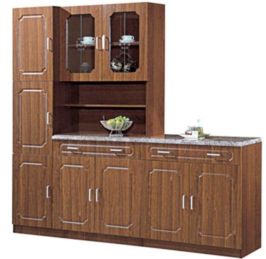 Starter Kitchen Cabinets: 2 Piece PVC Kitchen Cabinet Unit Combination