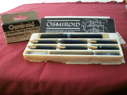 Writing Instruments Accessories Vintage Osmiroid