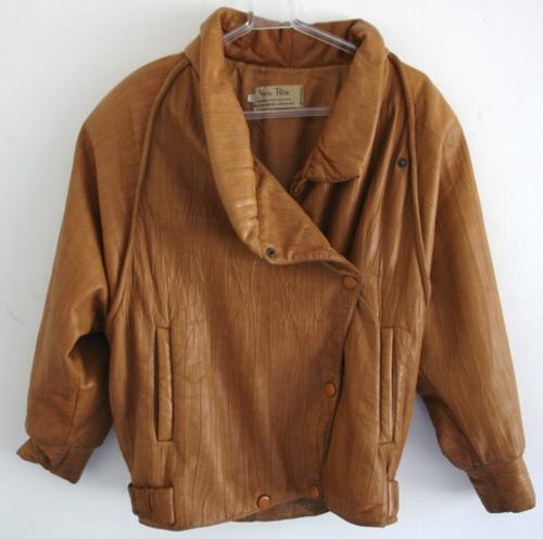 Other Clothing, Shoes & Accessories - Vera Pelle Leather Jacket Euro