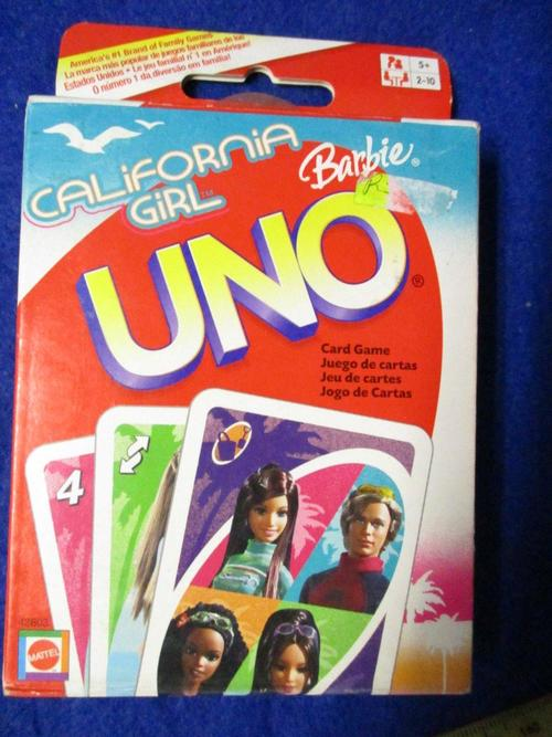 how to play barbie uno card game