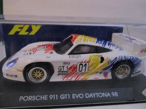 cars fly porsche 911 gt1 evo daytona 98 1 32 scale was. Black Bedroom Furniture Sets. Home Design Ideas