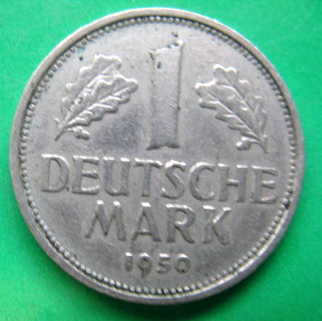 other international coins 1 deutsche mark 1950. Black Bedroom Furniture Sets. Home Design Ideas