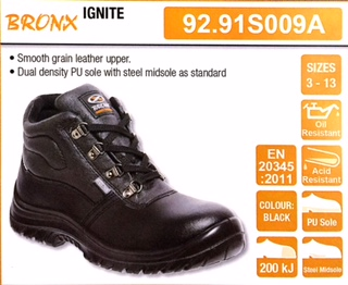 Shoes - Bronx Safety Shoes Was Sold For R380.00 On 15 Aug At 2108 By JBInternational In ...