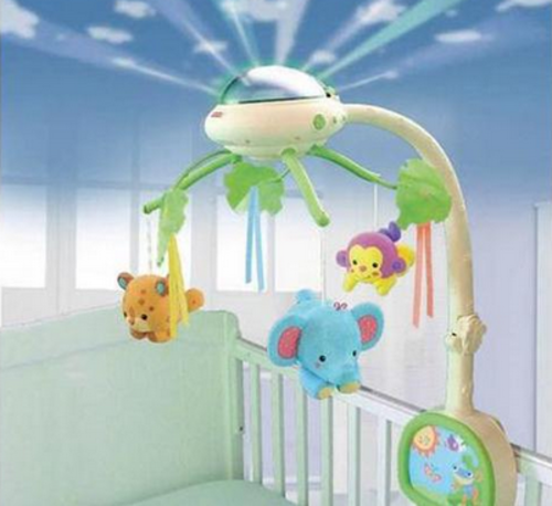 other toys fisher price rainforest dreams mobile with. Black Bedroom Furniture Sets. Home Design Ideas