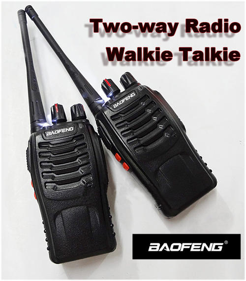 accessories a pair baofeng v6 high range two way radio walkie talkie 400 470mhz was listed
