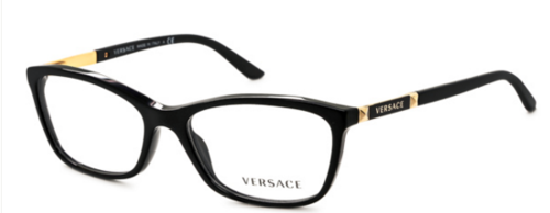 Eyewear - VERSACE BLACK AND GOLD POLISHED for sale in ...