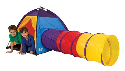 Tents Tunnels Kids Play Tent House With Tunnel 3 Part