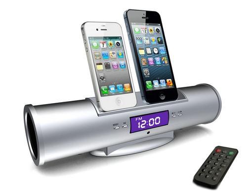 docks cradles imusic portable multi functional dock speaker system ipod dock fm radio. Black Bedroom Furniture Sets. Home Design Ideas