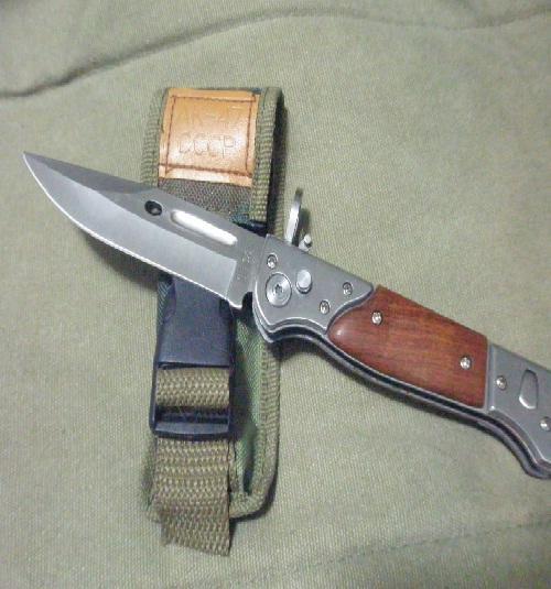 Bayonets - AK-47 bayonet style folding knife CCCP was sold ...  Ak