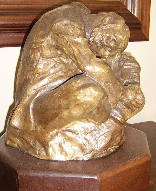Bronze jo roos original bronze sculpture concertina for Original sculptures for sale