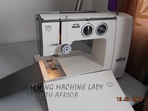Sewing Machines & Overlockers - ELNA LOTUS SP(SPECIAL ...