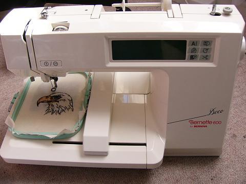 bernina bernette deco 600 embroidery machine