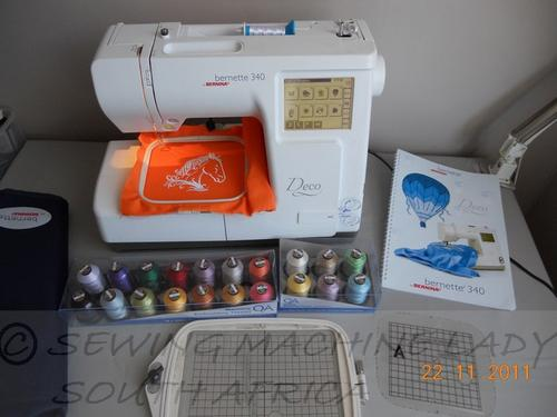 sewing embroidery combo machine se350