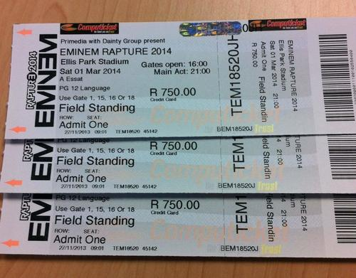 eminem tickets - photo #3