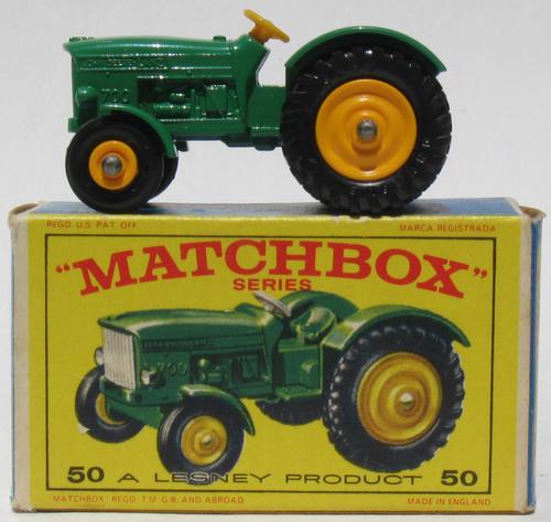 John Deere Matchbox Tractor : Matchbox lesney john deere tractor