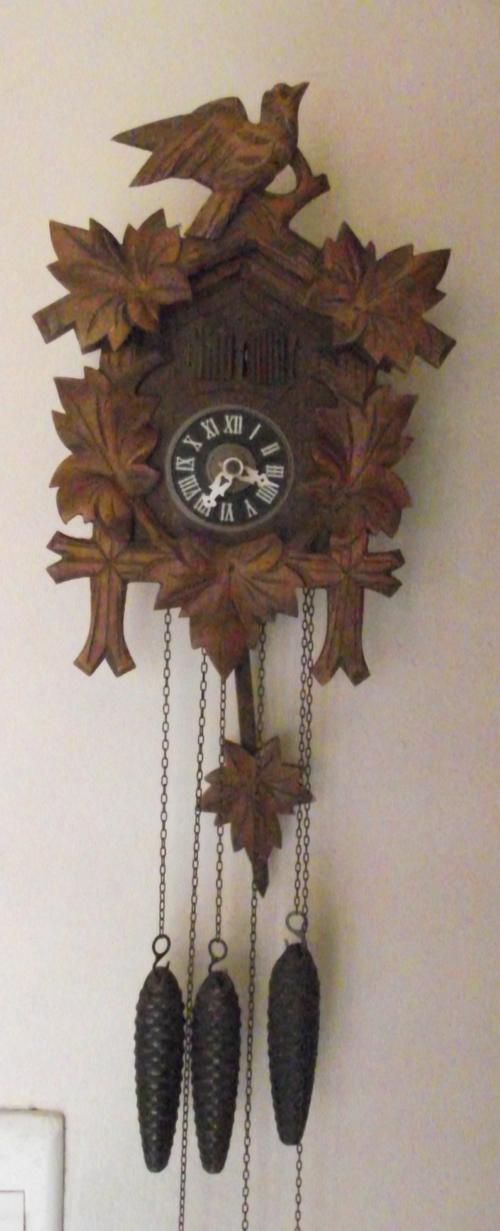 cuckoo wall clocks cuckoo clock 2 door 3 weights made