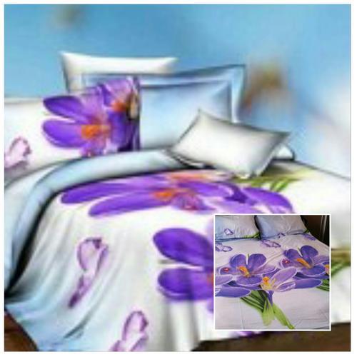 Double - 3D Duvet Bedding Purple Flower for sale in ...