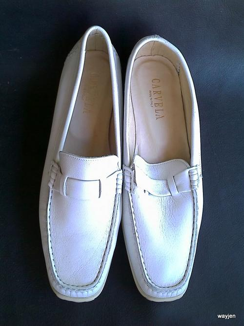 CARVELA SHOES MADE IN ITALY. LEATHER. HAND STITCHED. SIZE: 39 1/2