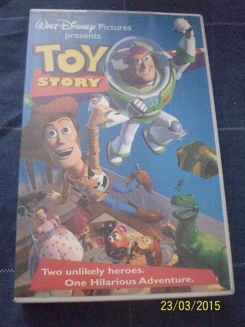 Toy Story Gum : Toy story video cassette bidorbuy