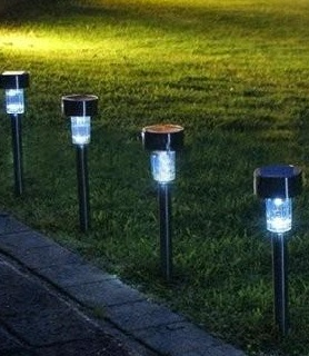 garden lighting 4 path lighting outdoor garden solar lighting wireless