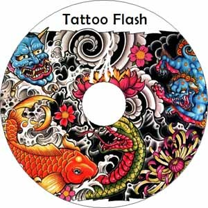 Tattoos body art best tattoo flash on cd and get a for How to tattoo dvd