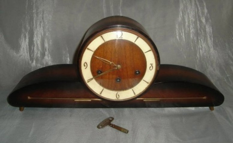 Mantel Clocks Art Deco Signed German Schatz Amp Sohne W1
